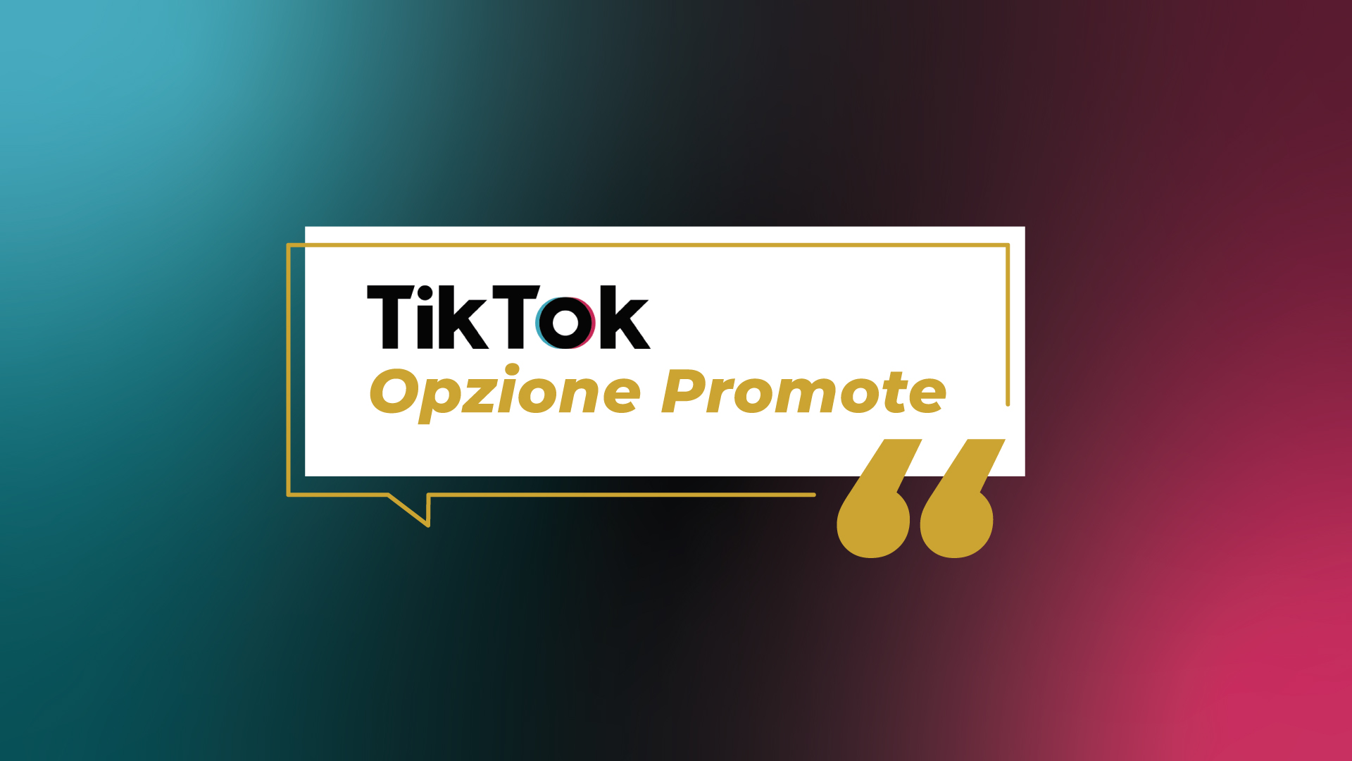 TikTok, l'opzione Promote disponibile per tutti gli account business: come funziona e come utilizzarla per la tua strategia