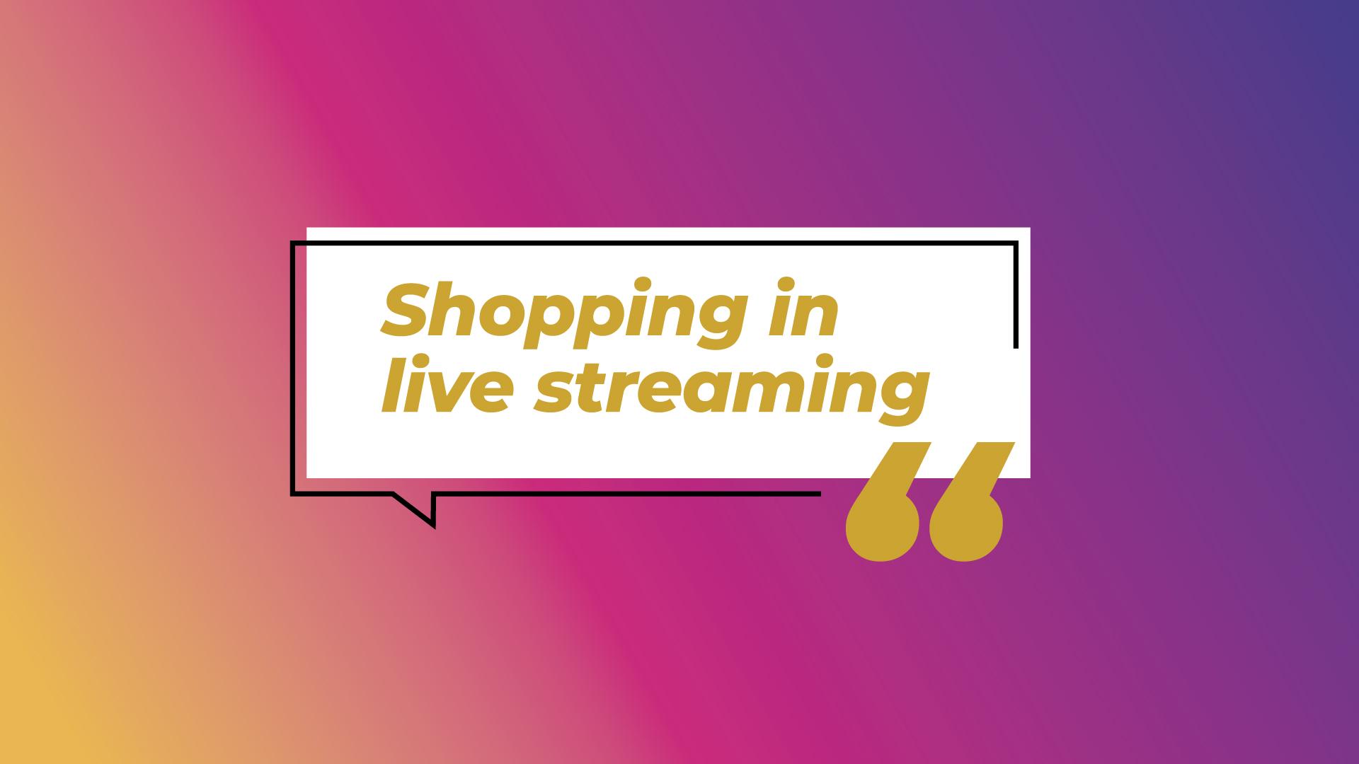 Instagram e l'apertura  allo shopping in live streaming: i numeri e come sfruttare la tendenza per il tuo business